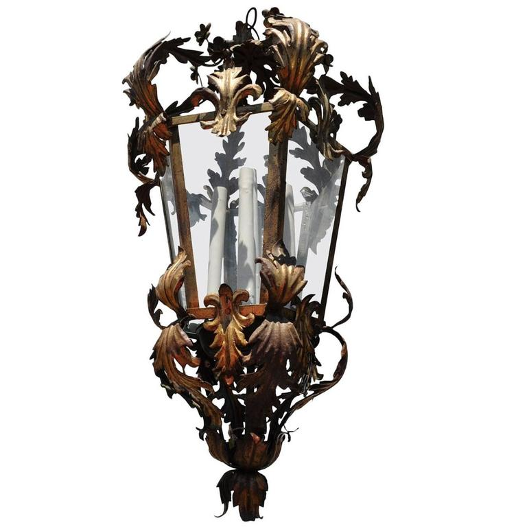 Outdoor Exterior Italian Pendant Lantern For Sale At 1stdibs