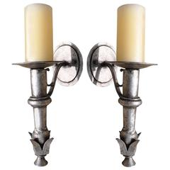 Short Monterey Iron Sconce