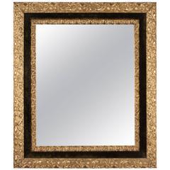 Art Nouveau Giltwood Frame Mirror, American, circa 1910