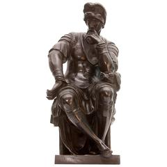 Bronze Sculpture Lorenzo De Medici