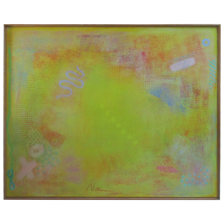 Robert Natkin Intimate Lighting Series, 1976, Painting