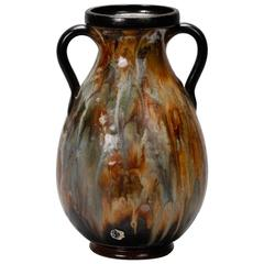 Large Roger Guerin Two Handled Vase