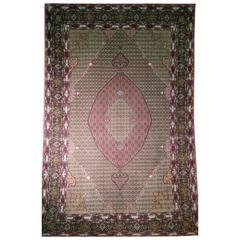 20th Century Wool and Silk Tabriz
