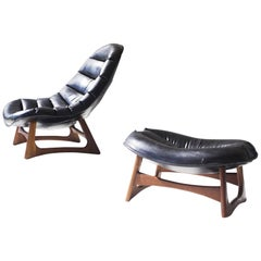 Adrian Pearsall Lounge Chair and Ottoman for Craft Associates Inc.