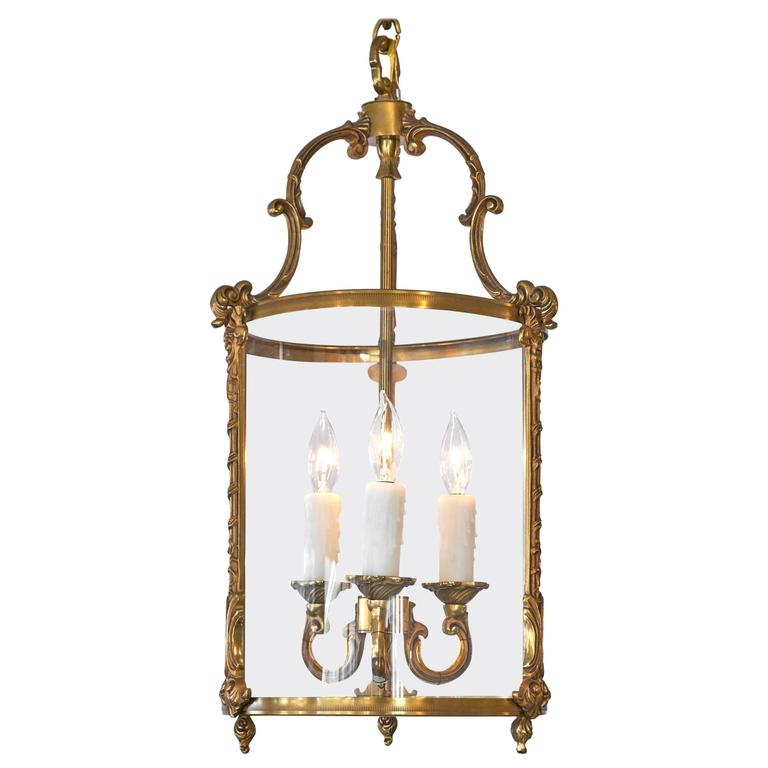 French Antique Brass Lantern For Sale - French Antique Brass Lantern At 1stdibs
