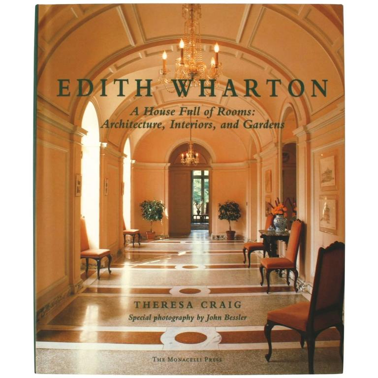 edith wharton architecture interiors and gardens first
