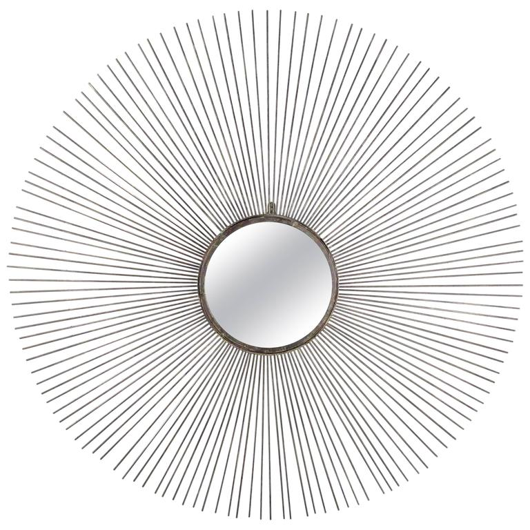 Contemporary Modern Starburst Wall Mirror