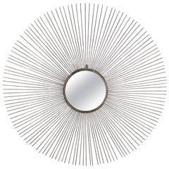 Contemporary Modern Starburst Wall Mirror