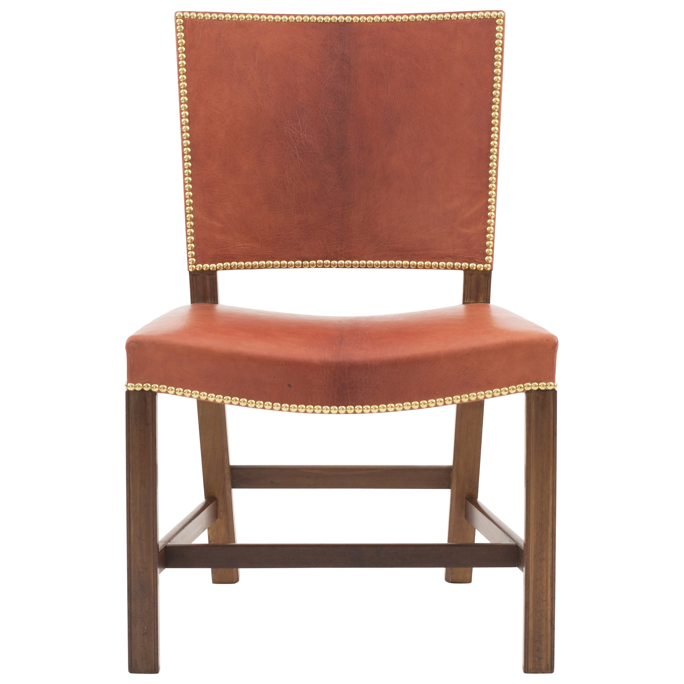 Kaare Klint Red Chair, Rud. Rasmussen, 1930s