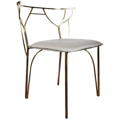 Bronze Chair for a Desk