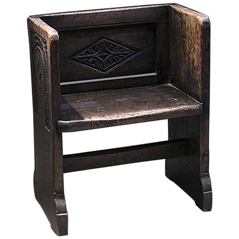 English Oak Bench 1