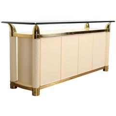 Hollywood Regency Credenza by Weiman, 1980s