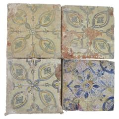 Large Grouping of Early Moroccan Tiles