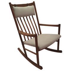 Hans Wegner for Tarm Stole Rocking Chair