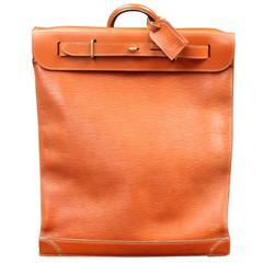 Louis Vuitton Steamer Bag Epi Leather, Golden Brown Color