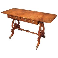 19th Century Regency Amboyna Sofa Table