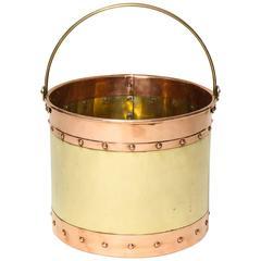 Mixed Metal Kindling Bucket