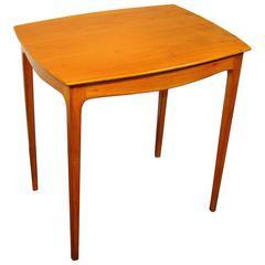 Italian Work, 1960 Cherrywood Side Table