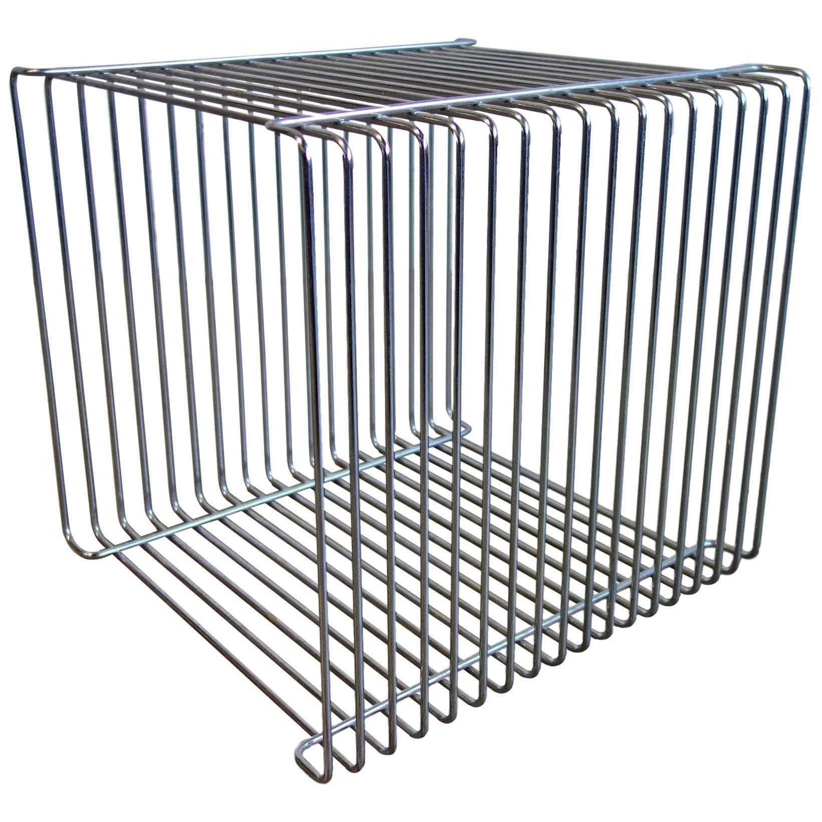 Mid-Century Verner Panton Pantonova Wire Cube for Fritz Hansen