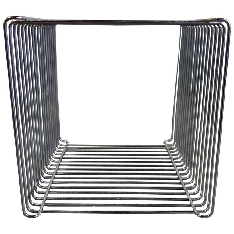 Mid-Century Verner Panton Pantonova Wire Cube for Fritz Hansen 1