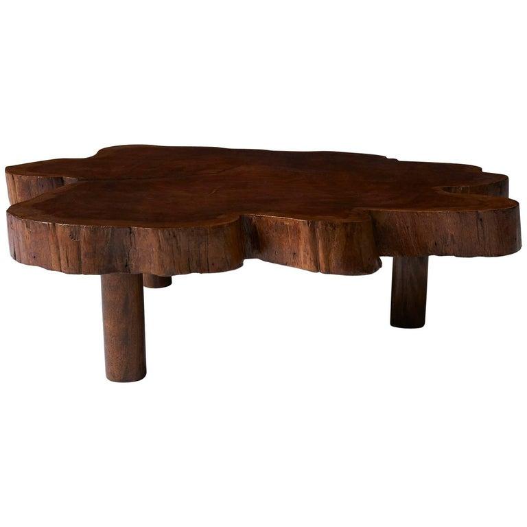 Rare Coffee Table by Joaquim Tenreiro