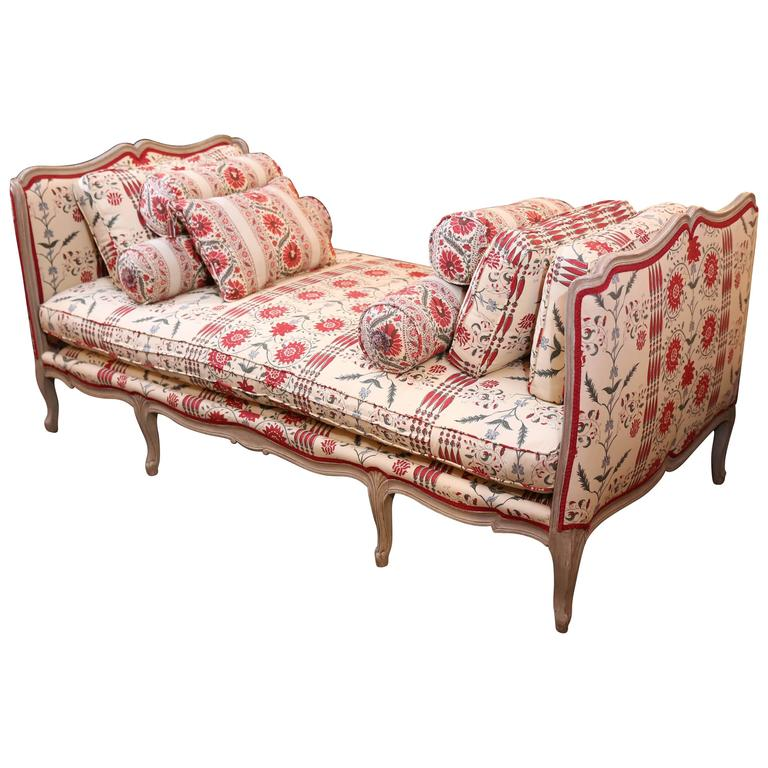 Louis Xvi Style Mid 19th Century Daybed Or Sofa At 1stdibs