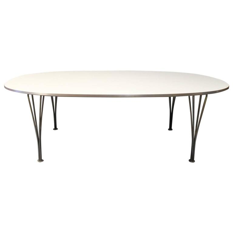 Superellipse Piet Hein Coffee Table Manufactured By Fritz Hansen In 2011 For Sale At 1stdibs