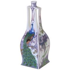 Samuel Schellink for Rozenburg, Art Nouveau Eggshell Porcelain Vase, 1911