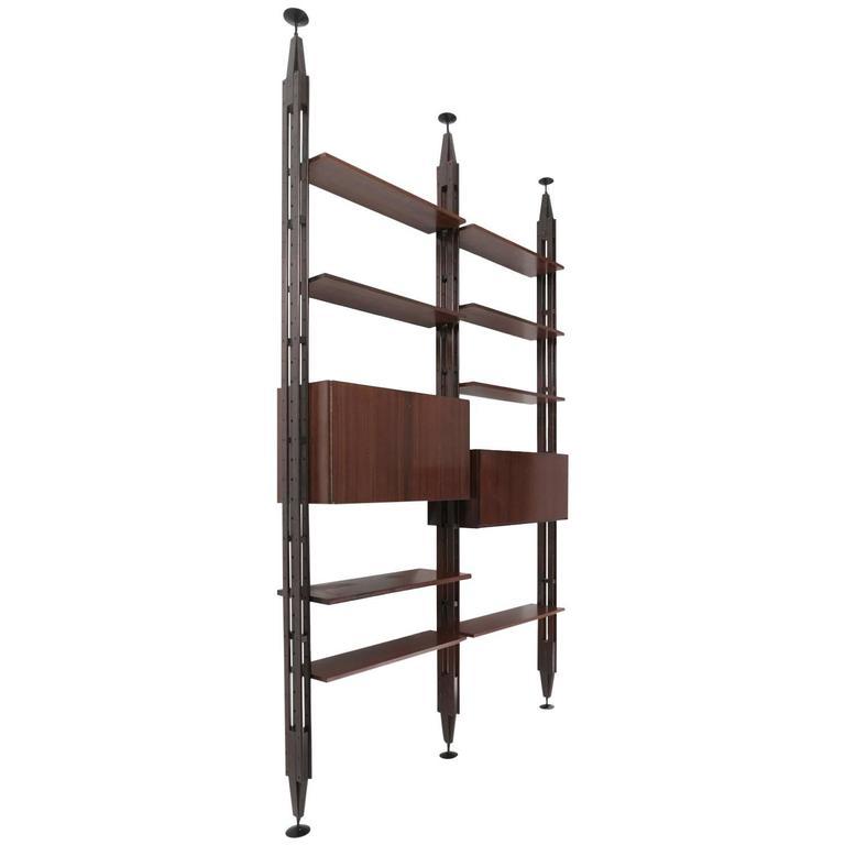 """""""Lb7"""" Bookcase by Franco Albini for Poggi"""