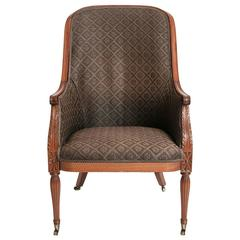 Louis XVI Chairs Upholstered in Horsehair