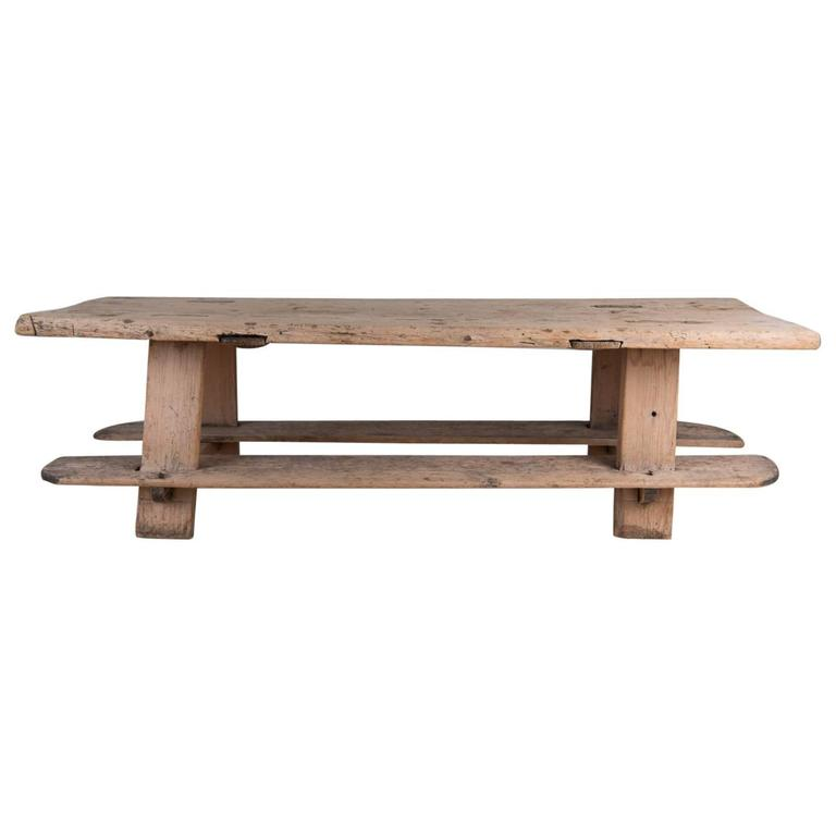 18th century rustic farmhouse table for sale at 1stdibs for Rustic farm tables for sale