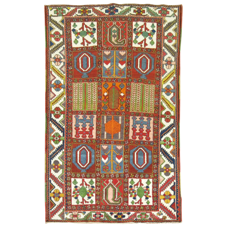 Vintage Persian Bakhtiari Carpet