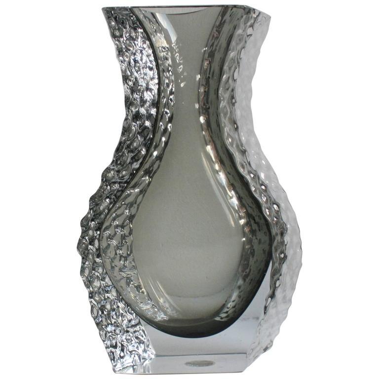 Mandruzzato Murano Art Glass Vase by Cavagnis For Sale