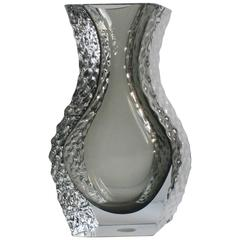 Mandruzzato Murano Art Glass Vase by Cavagnis