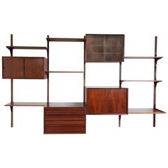 Danish Mid-Century Poul Cadovius Rosewood Wall Units