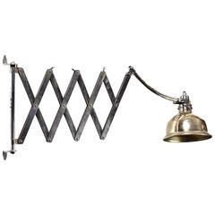 Gigantic Bauhaus Scissors Lamp