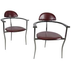 Pair of 'Marilyn' Chairs by Arrben