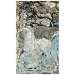 "Dorothy Bowman ""Moonlit Horses"" Serigraph, Signed"