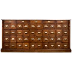 Antique French Apothecary Cabinet, circa 1870