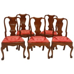 George II Side Chairs/Group of Five