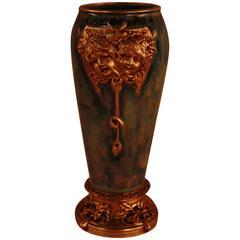 Louchet Paris Bronze-Mounted Porcelain Vase