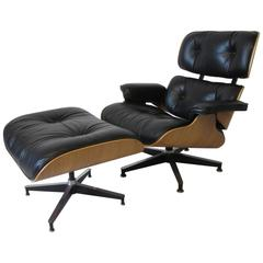 Eames 670 Lounge Chair and Ottoman for Herman Miller