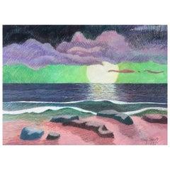 """Tony Sheets """"Molokai Dream"""" 1995, Signed"""
