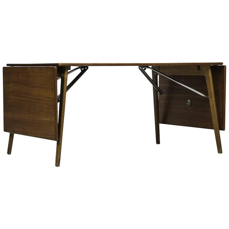 Børge Mogensen Dining Table or Desk by Søborg Møbler in Denmark