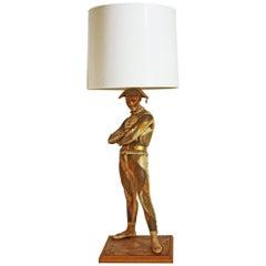 Vintage Midcentury Harlequin Lamp by Marbro