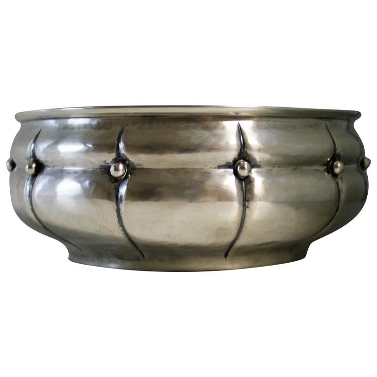 Anton Michelsen Danish Silver Bowl