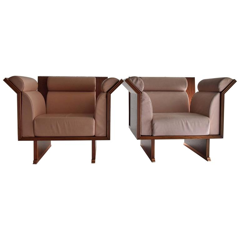Pretenziosa Chairs by Ugo La Pietra, 1983 For Sale