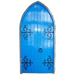 Pair of English Antique Gothic Chapel Doors