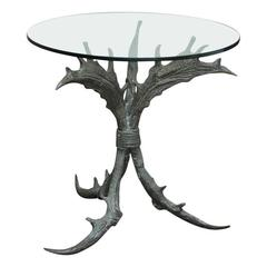 Bronze Antler Table