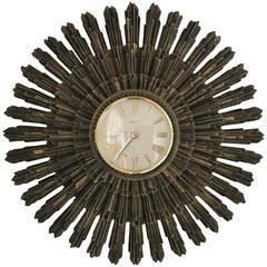Syroco Starburst Wall Clock